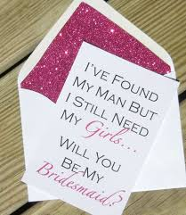 in bridesmaid card 14 ways to pop the question will you be my bridesmaid best