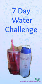 The Challenge How To Do It 7 Day Water Challenge Bell Wellness