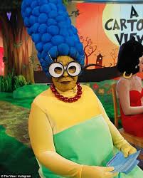 whoopi goldberg transforms simpsons u0027 marge halloween