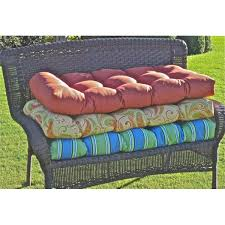 Ideas For Outdoor Loveseat Cushions Design Awesome Wicker Patio Cushions Backyard Decorating Images Loveseat