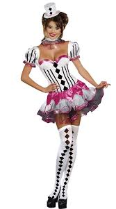 Ladies Clown Halloween Costumes 46 Circus Fancy Dress Images Circus Costume
