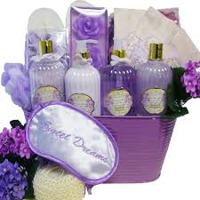 bathroom gift basket ideas amazon com lavender sweet dreams spa bath and body gift basket