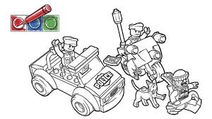 printable coloring pages lego police coloring