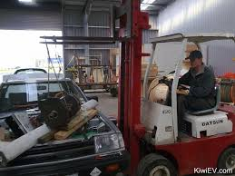 Forklift Mechanic The Original Kiwi Ev Electric Car Conversion