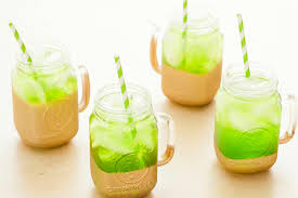 class up your pot of gold with our midori limonata cocktails