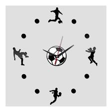 soccer wall clock for interior u2013 wall clocks