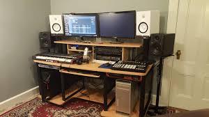 L Desks For Gaming by New Desk For My Music Gaming Setup Imgur