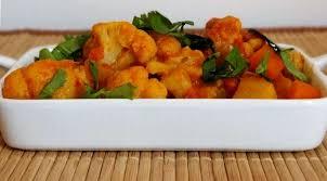 cuisiner un choux fleur curry de chou fleur misayeko tarkari népal la tendresse en cuisine