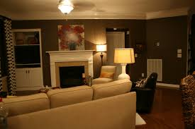 the bozeman bungalow living room accent wall done