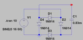 designing a full wave bridge rectifier