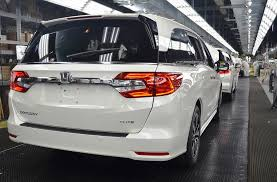 2018 honda odyssey production begins auto news ng