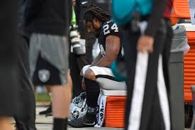 Raiders American Flag Raiders Fans Have Mixed About Lynch U0027s Anthem Protest