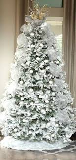 white tree silver tree silver and