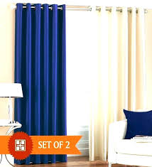 royal blue blackout curtains uk sky for bedroom and cream home
