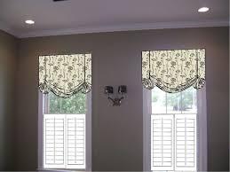 Inside Mount Window Treatments - anyone do modern flat roman shades above the window casing pic