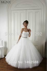 brautkleid sale new sparkly beaded sweetheart bow sashes white tulle wedding