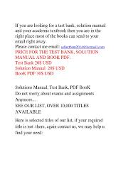 selling test bank solution and pdf book management accounting