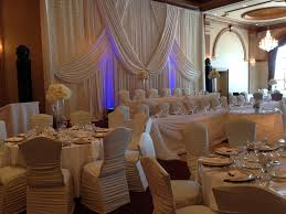 royal ambassador winter wedding reception decorations