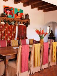 red home decor accessories spanish style decorating ideas hgtv