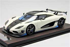 koenigsegg ccx white 1 18th koenigsegg agera rs1 white