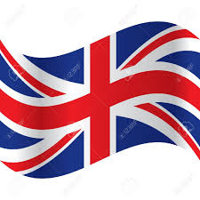 art no union jack colour clipart