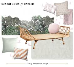Chaise That Turns Into A Bed How To Style A Twin Bed Like A Sofa Or Daybed Emily Henderson