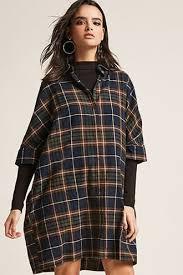 womens plaid dress forever21