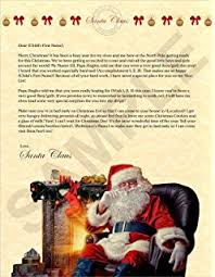 personalized letter from santa personalized letter from santa toys