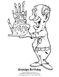 happy birthday papa coloring pages free mr gus printable uncle grandpa coloring sheet fathers day