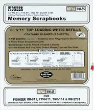 Pioneer Scrapbook Album Pioneer Scrapbooking Albums U0026 Refills 8 5