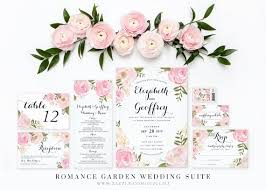 stunning floral wedding invitations floral wedding invitations