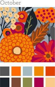 Autumn Color Schemes September Color Palette Autumn Anthology Fall Decor