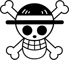 Car Window Flags One Piece Straw Hat Flag Vinyl Car Window And Laptop Decal