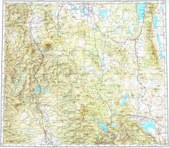 Redding California Map Download Topographic Map In Area Of Redding Red Bluff Yreka