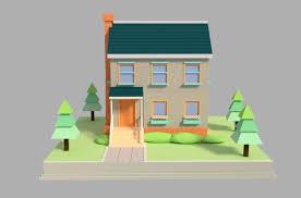 100 cartoon house cartoon house by backdoorcreative 3docean