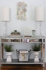 Hall Table Decor The 25 Best Console Table Decor Ideas On Pinterest Foyer Table
