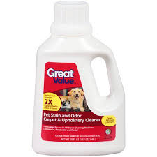 Carpet And Upholstery Cleaner Great Value Pet Stain And Odor Carpet U0026 Upholstery Cleaner 50 Fl