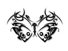 45 tribal butterfly tattoo designs