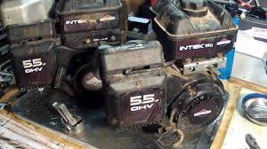 briggs and stratton intek engines model number locations youtube
