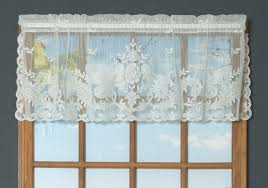 Lace Valance Curtains Point Lace Valance Thecurtainshop