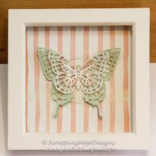 scrapping mojo stampin u0027 up home decor butterflies thinlits