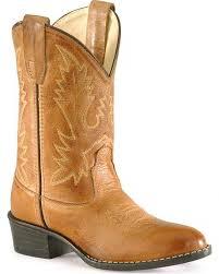 children u0027s old west corona calfskin cowboy boots round toe