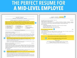 Best Font For Resume Lifehacker by This Is An Ideal Resume For A Mid Level Employee Business Insider