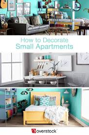 how to decorate small apartments overstock com