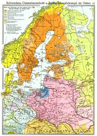 Baltic States Map The Empire Of Poland