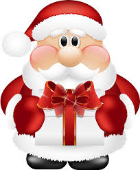 what did santa claus bring for you on christmas eve clip art