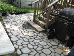 pathmate concrete stepping stone mold luxurious paver walkway idolza