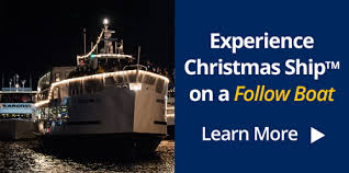 When Is The Parade Of Lights Christmas Ship Festival Argosy Cruises