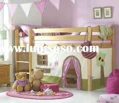 Loft Bed Set with Curtain Set For Loft Bed Curtain Ideas