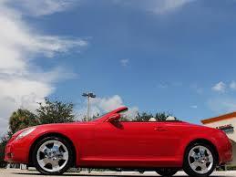 lexus sc430 red interior for sale 2004 lexus sc 430 for sale in bonita springs fl stock 060737 16